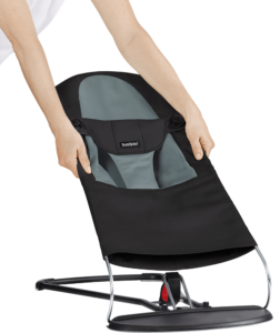 Fabric-Seat-For-Bouncer-Black-Grey-454022-A-BabyBjorn